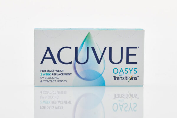 johnson & johnson Δεκαπενθήμεροι Φακοί Επαφής Μυωπίας ACUVUE Oasys with Transitions