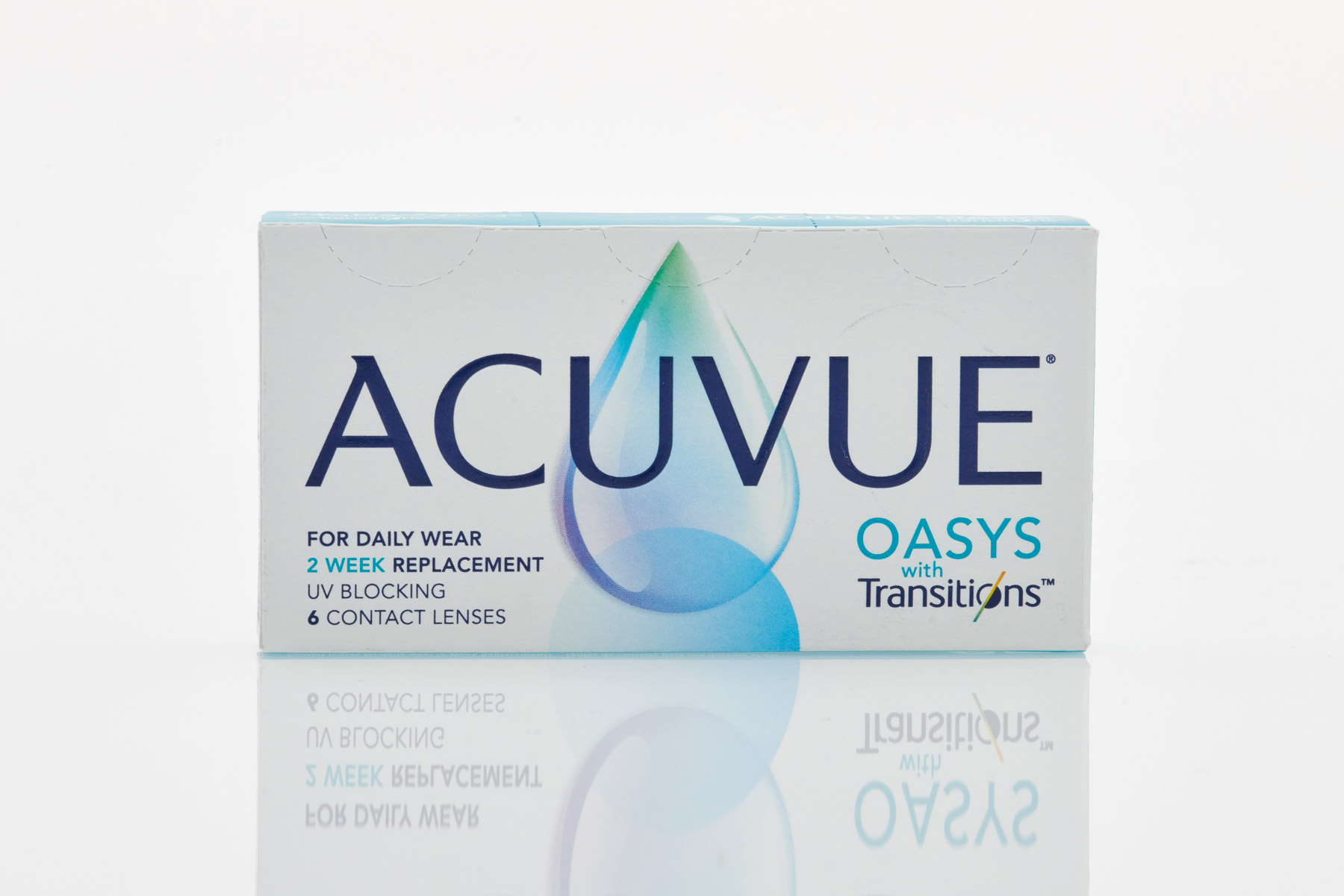 johnson & johnson Fortnight Contact Lenses ACUVUE Oasys with Transitions