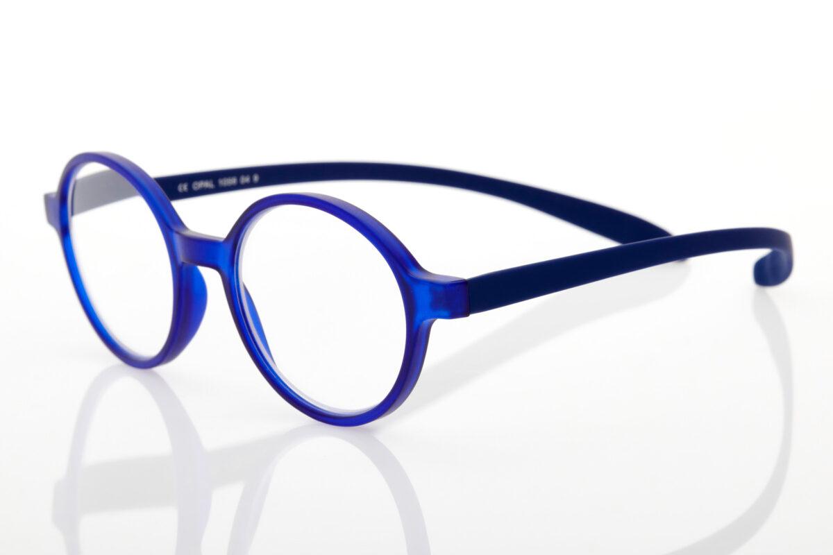 Proximo Blue Round Reading Glasses