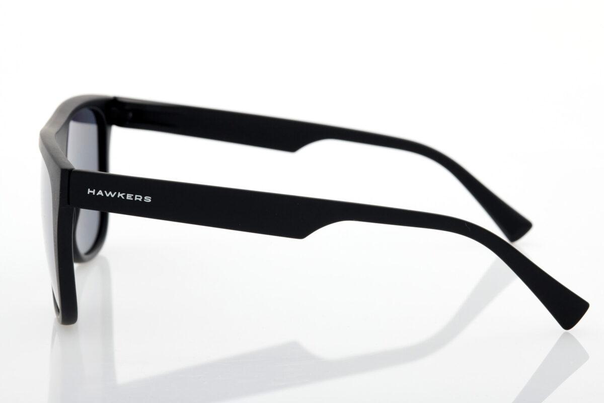 Ανδρικά Μαύρα Γυαλιά Ηλίου Hawkers Black Chrome Runway