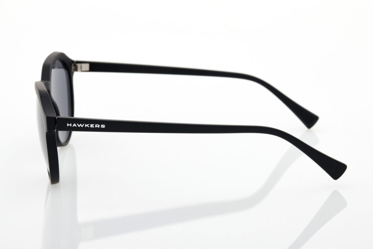 Unisex Black Sunglasses Hawkers Warwick XS Dark