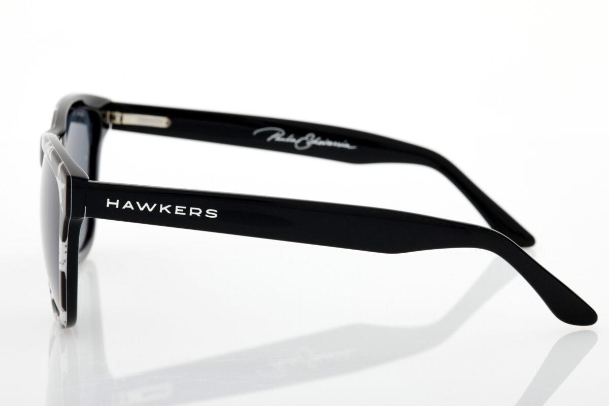 Μαύρα Unisex Γυαλιά Ηλίου Hawkers Black White Stars