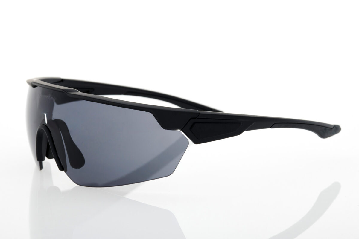 Athletic unisex Sunglasses Hawkers Cycling Black