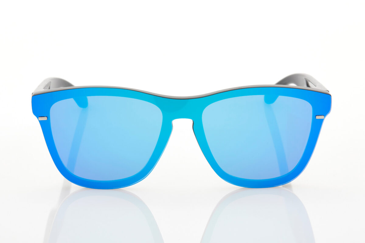 Black Mirror Male Sunglasses Hawkers One Venm Clear Blue Hybrid