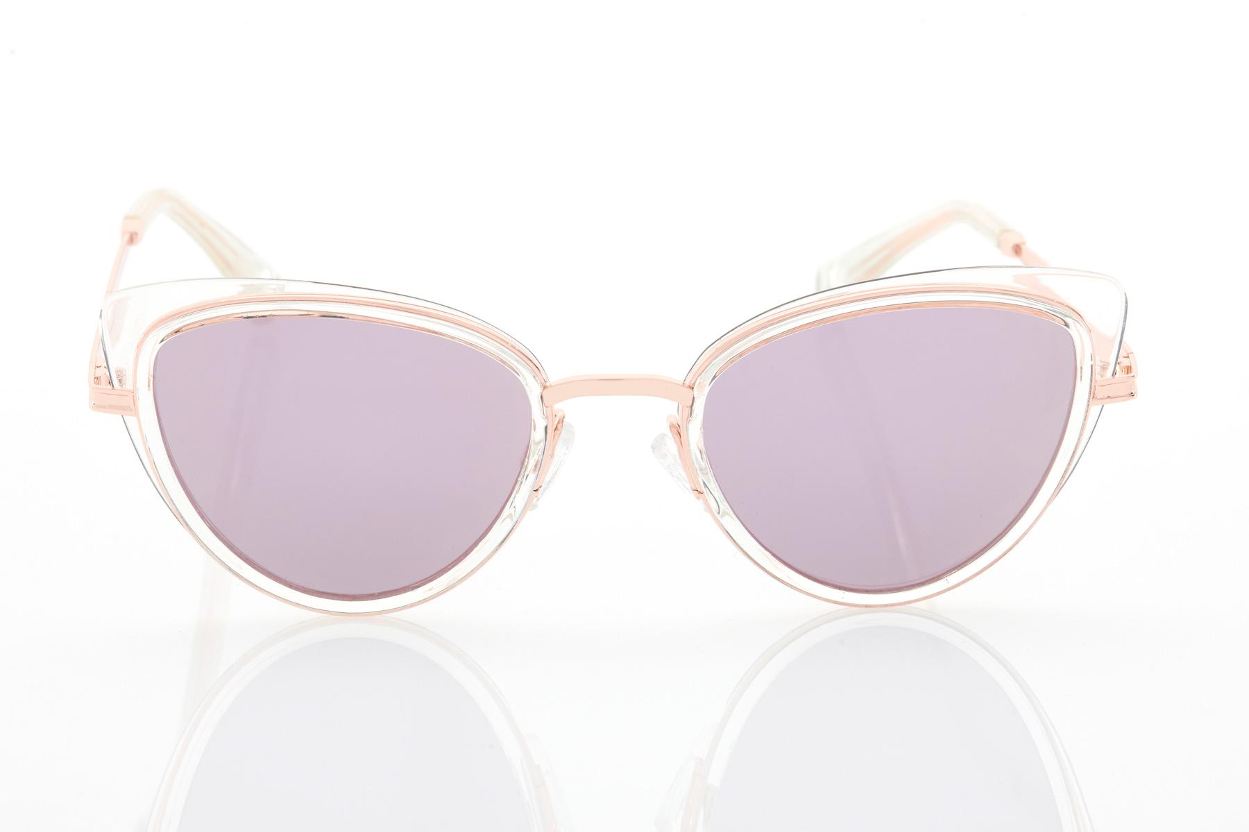 Γυναικεία Ροζ-Χρυσό Γυαλιά Ηλίου Hawkers Feline Air Rose Gold