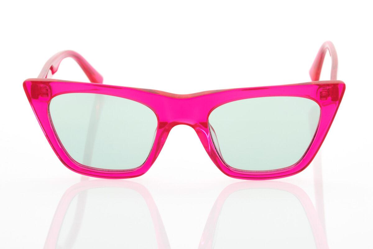 Female Fucshia Sunglasses Hawkers Hypnose Fuchsia Green