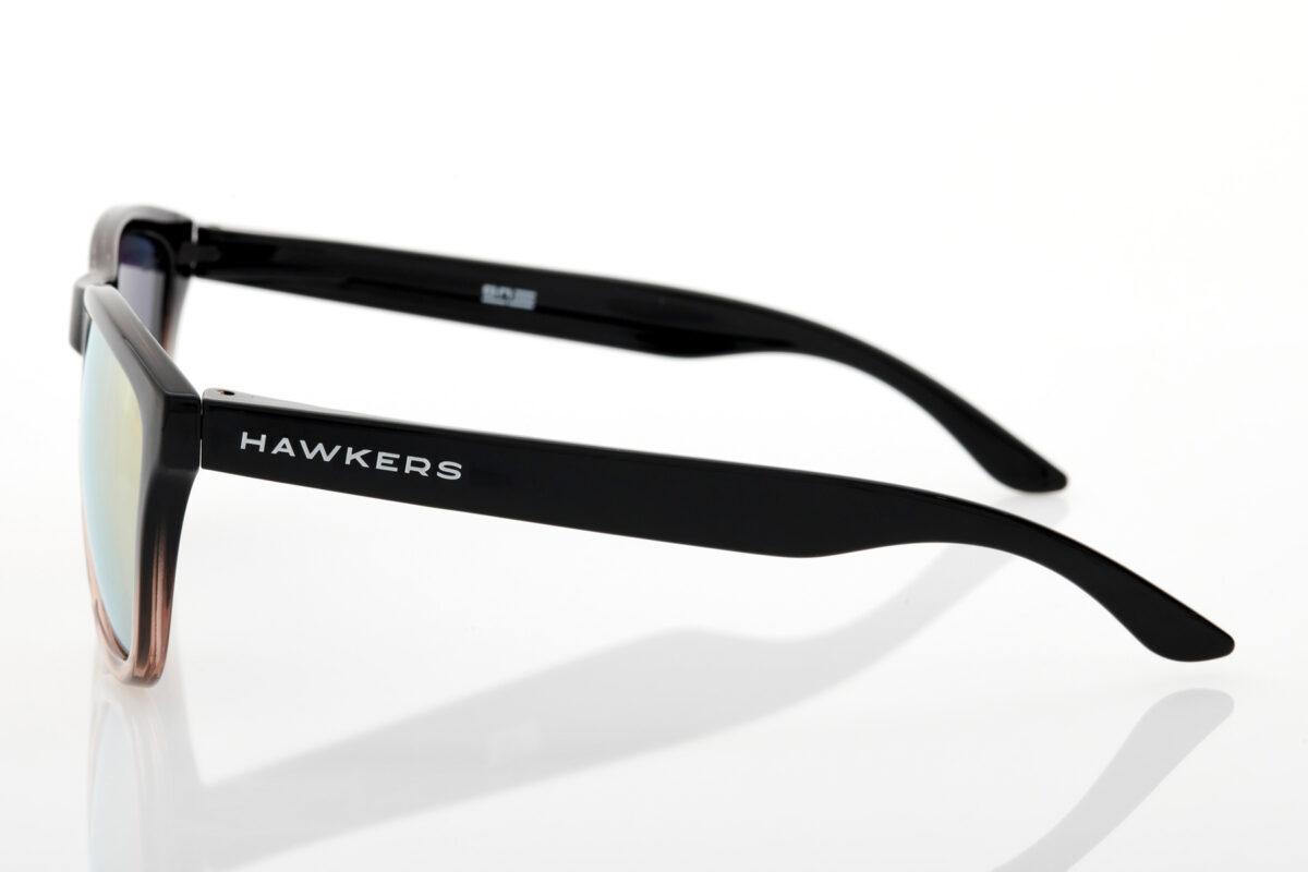 Καθρέφτης Γυναικεία Μαύρα Γυαλιά Ηλίου Hawkers One Fusion Rose Gold