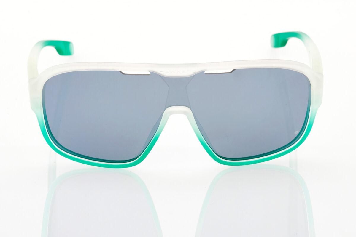 Unisex Transparent Athletic Sunglasses Hawkers Infinite Mint