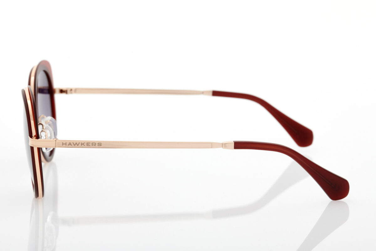 Κεραμιδί Γυναικεία Γυαλιά Ηλίου Hawkers Milady Caramel