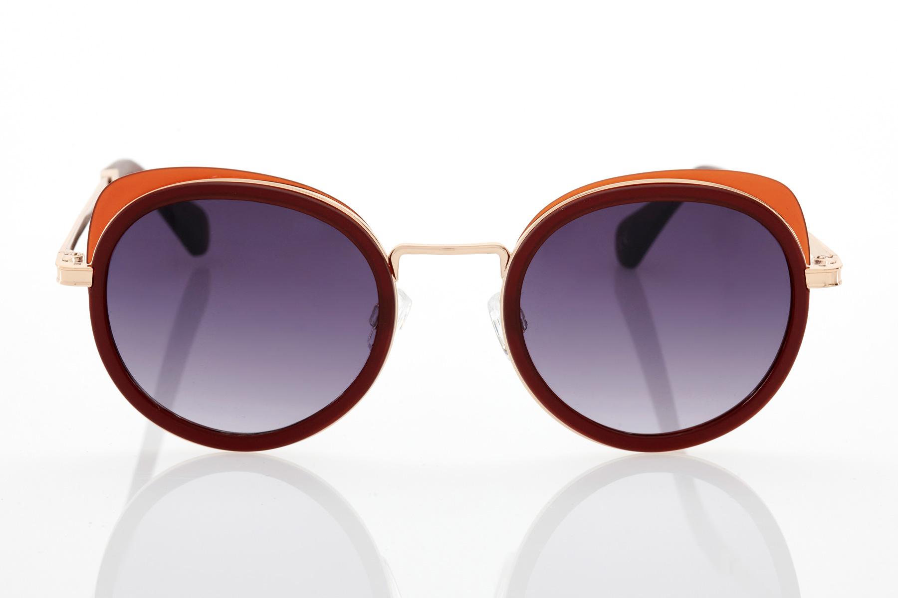 Tile Female Sunglasses Hawkers Milady Caramel
