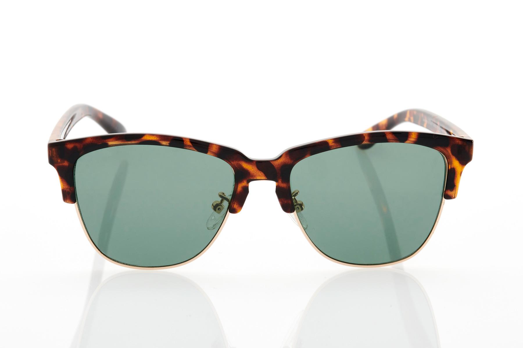 Tortoise Male Sunglasses Hawkers New Classic Green