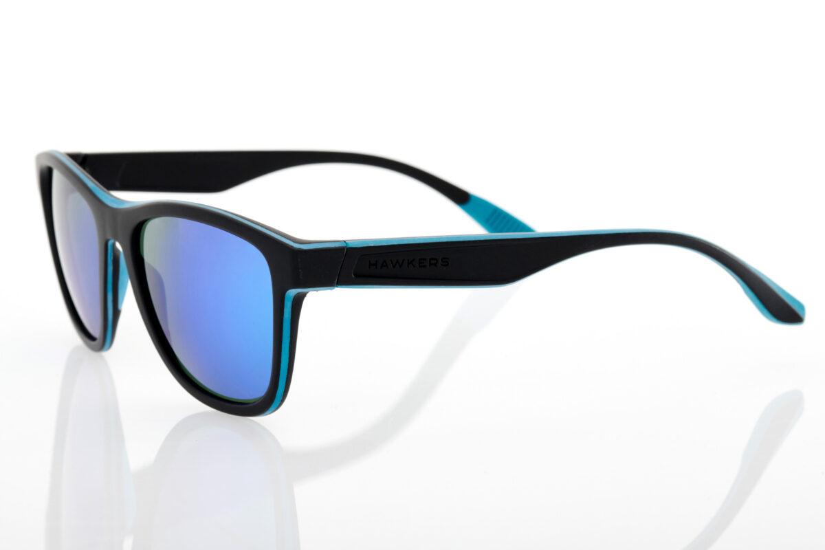 Μαύρα Τυρκουάζ Unisex Γυαλιά Ηλίου Hawkers One Sport Emerald