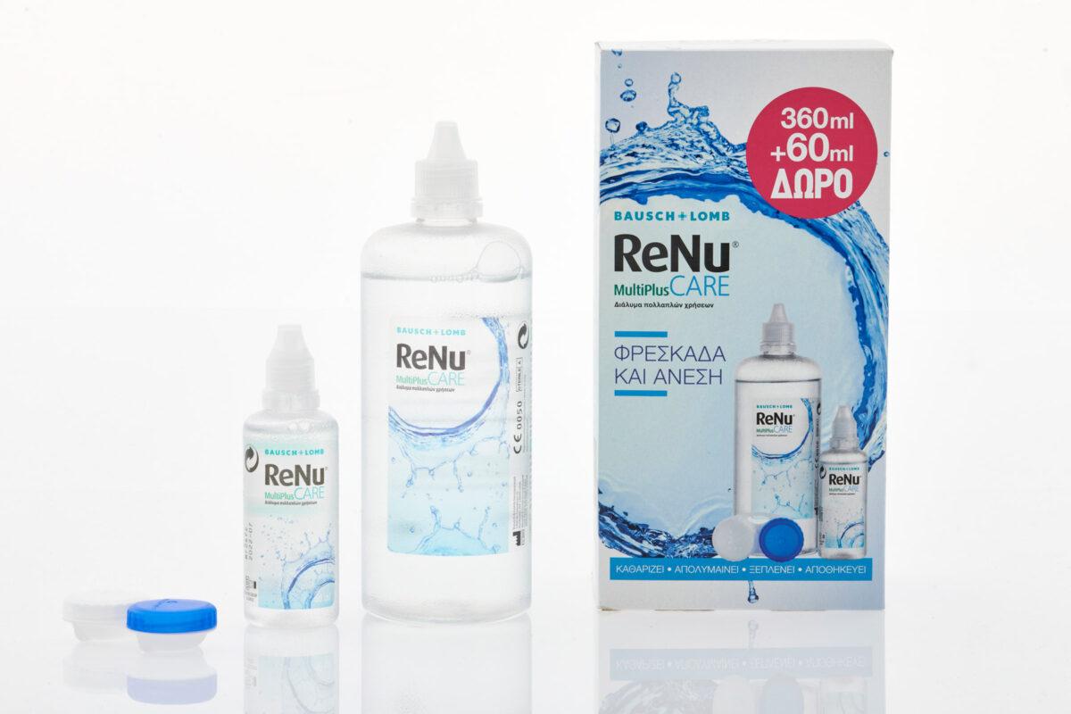 Υγρό φακών επαφής ReNu+travel size
