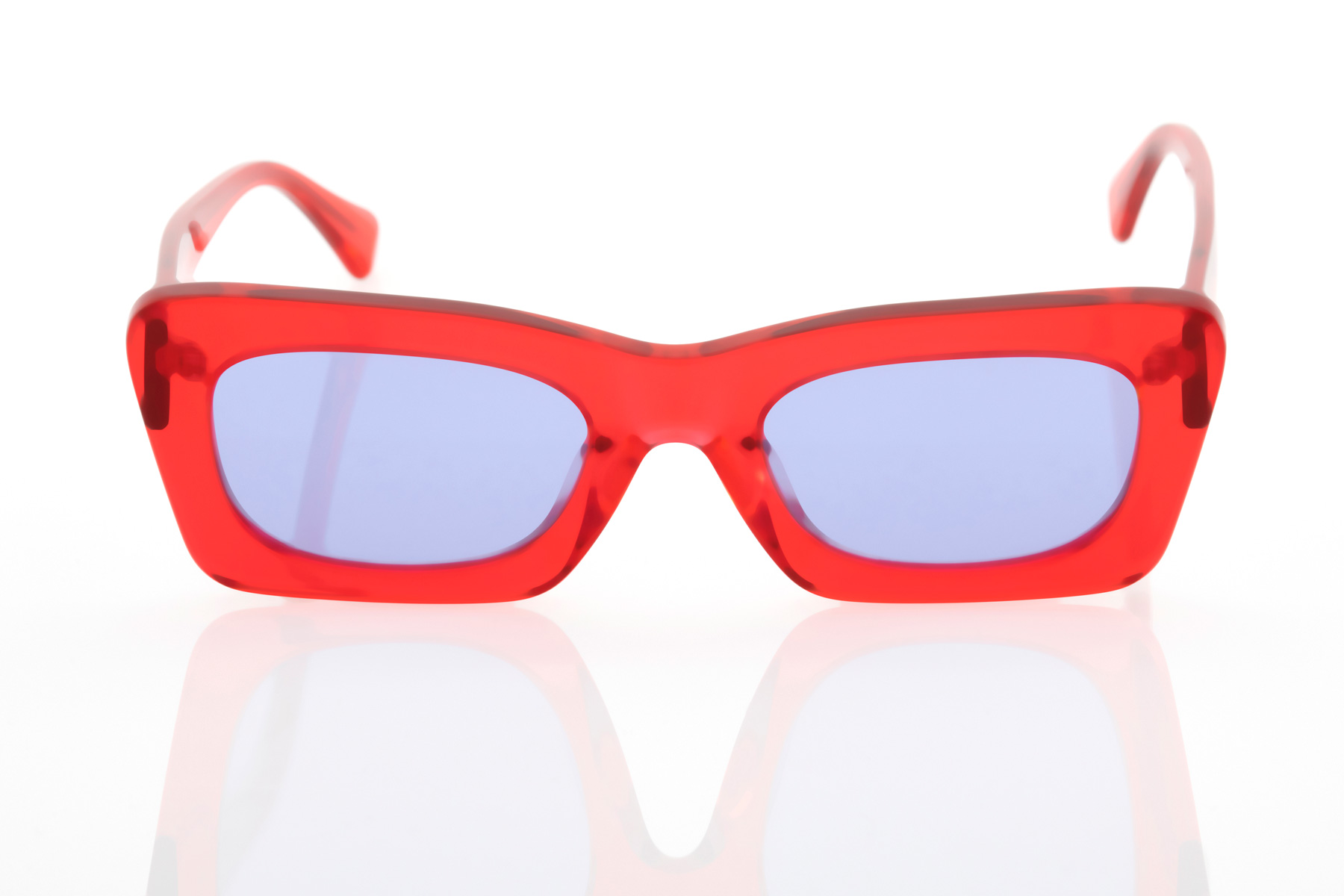 Unisex Κόκκινα Γυαλιά Ηλίου Hawkers Lauper Red Navy