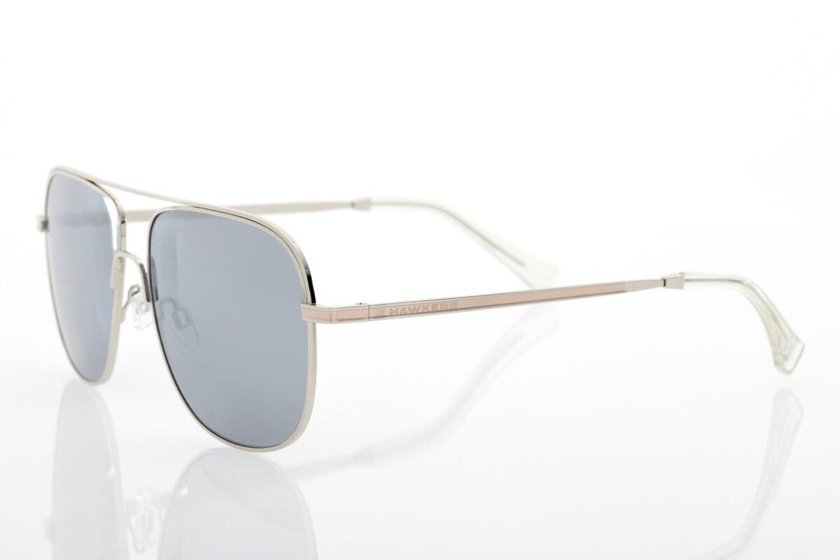 Ασημί unisex Γυαλιά Ηλίου Hawkers Teardrop Silver Chrome