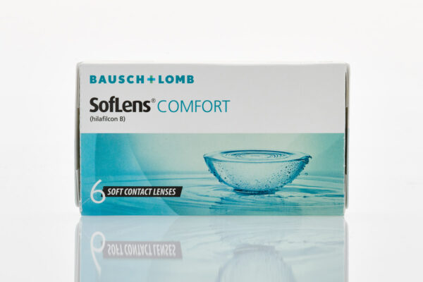 bausch and lomb Μηνιαίοι Φακοί Επαφής Μυωπίας Soflens Comfort