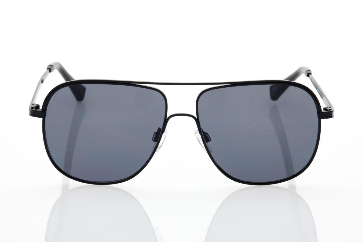 unisex Black Sunglasses Hawkers Teardrop Polarized Dark