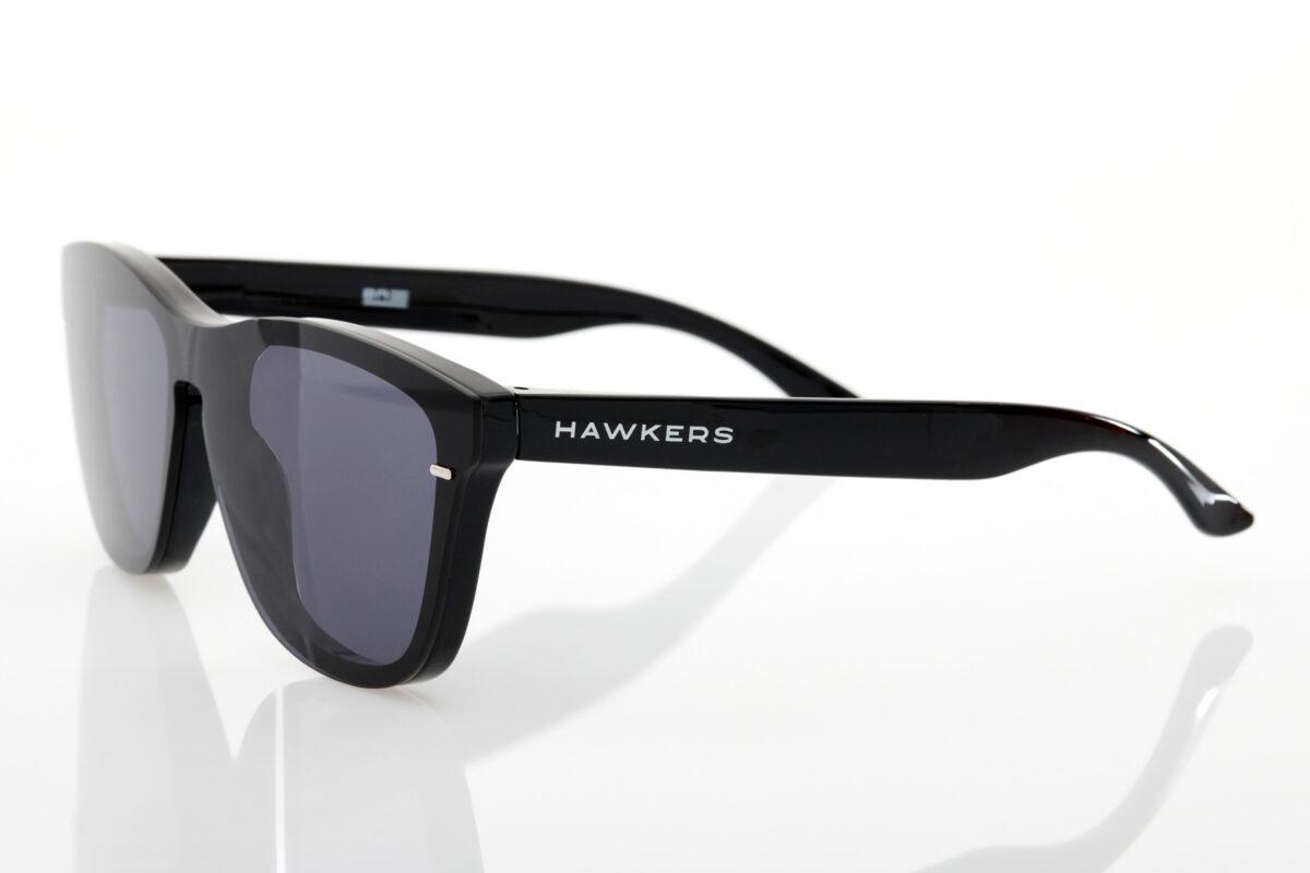 Unisex Μαύρα Γυαλιά Ηλίου Hawkers One Venm Dark Hybrid