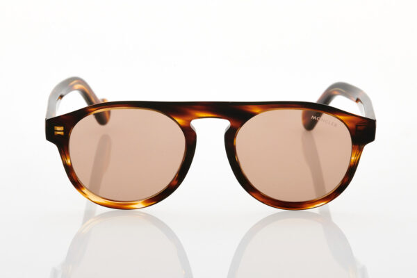 Male Tortoise Sunglasses Moncler ML0073 50E 51