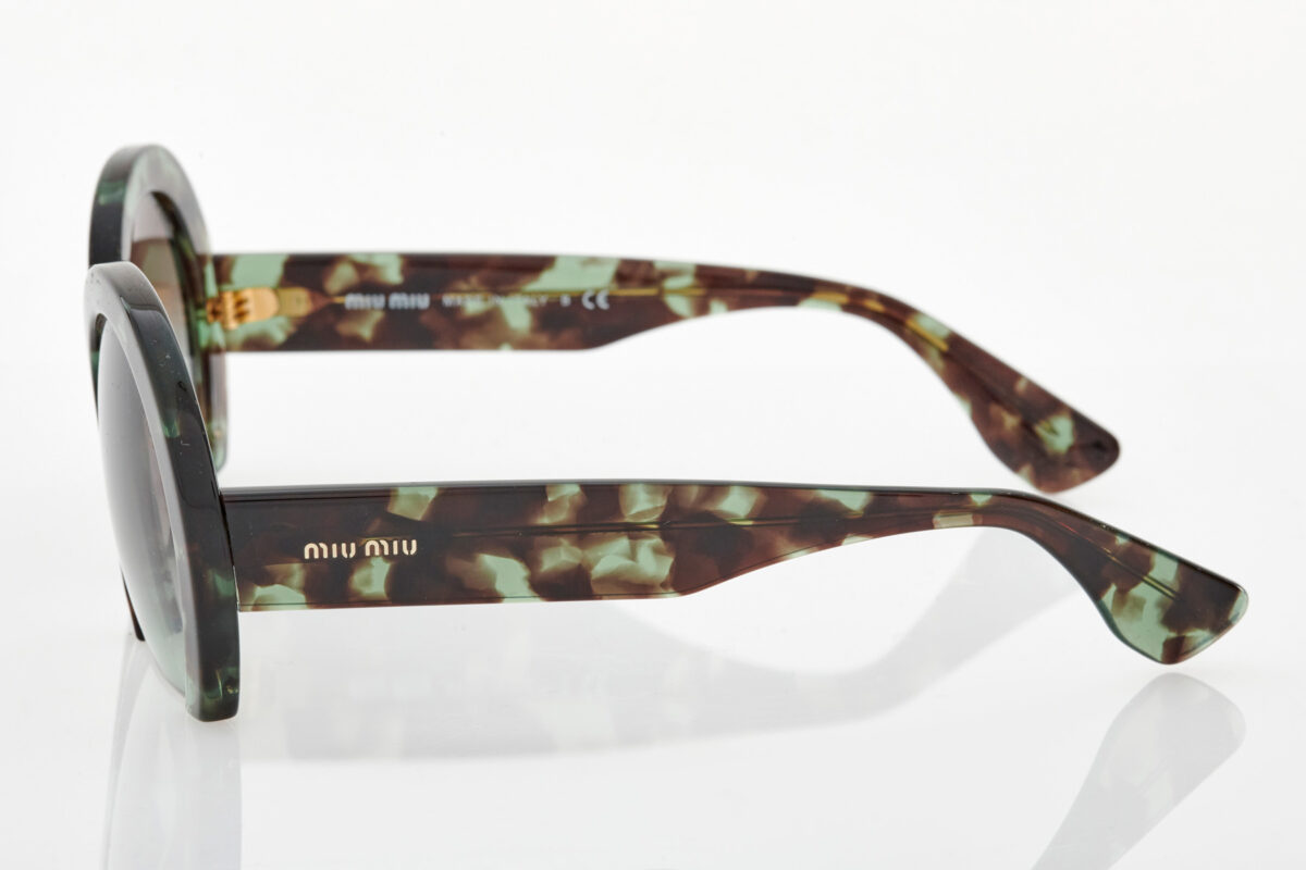 Πράσινα Γυναικεία Γυαλιά Ηλίου Miu Miu
