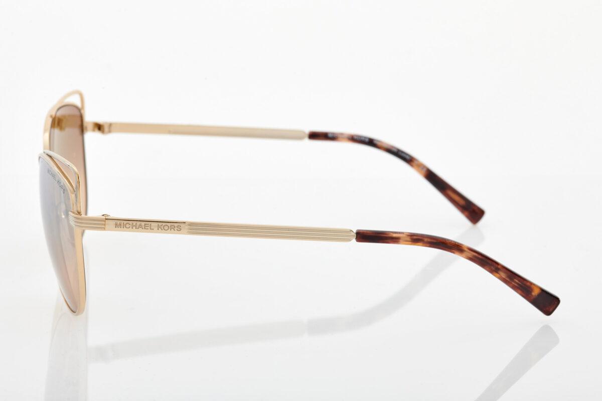 Χρυσά Γυναικεία Γυαλιά Ηλίου Michael Kors