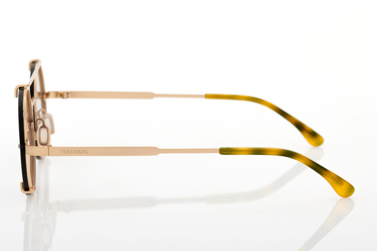 Unisex gold sunglasses Vera Wang