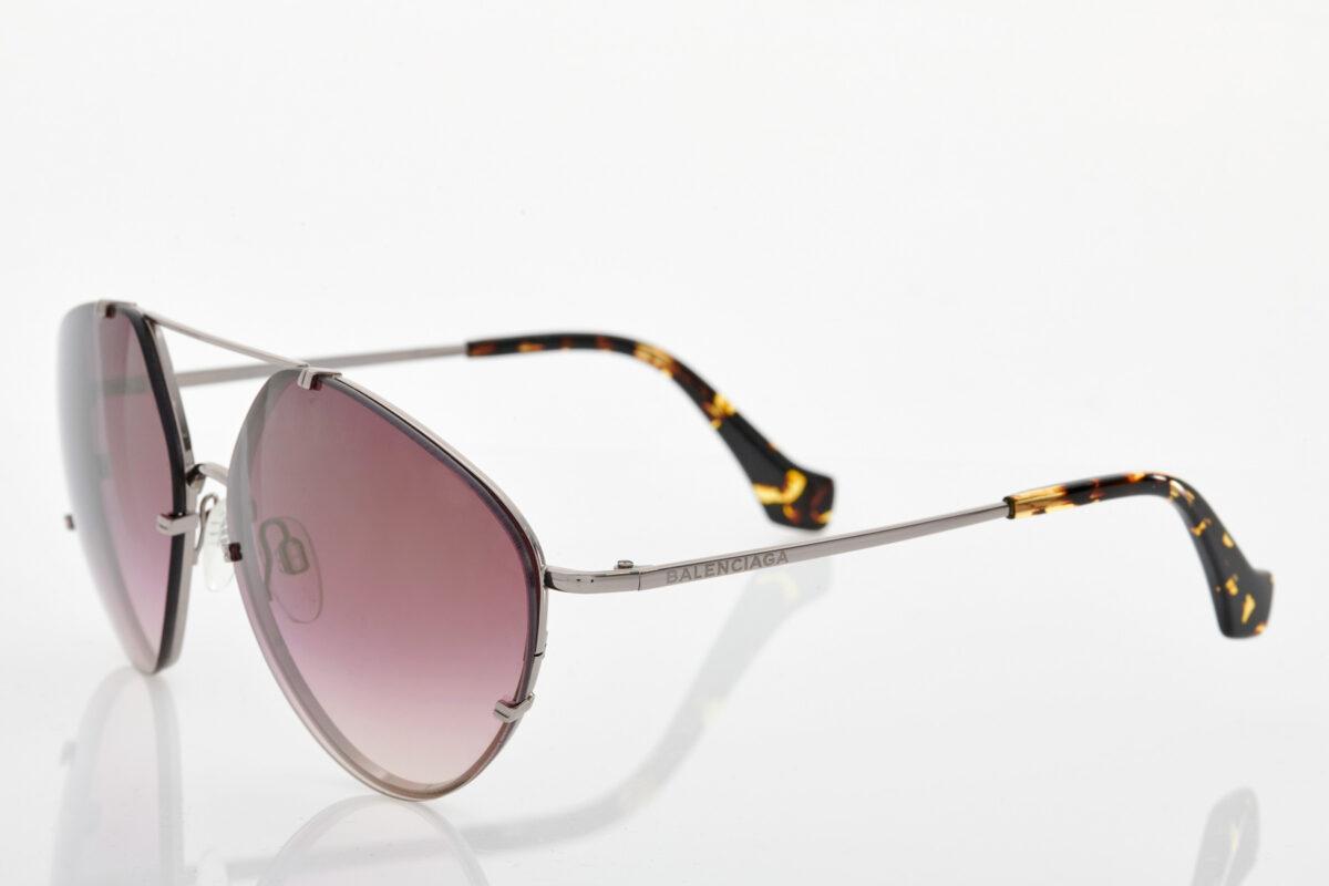 Ασημί Γυναικεία Γυαλιά Ηλίου Balenciaga