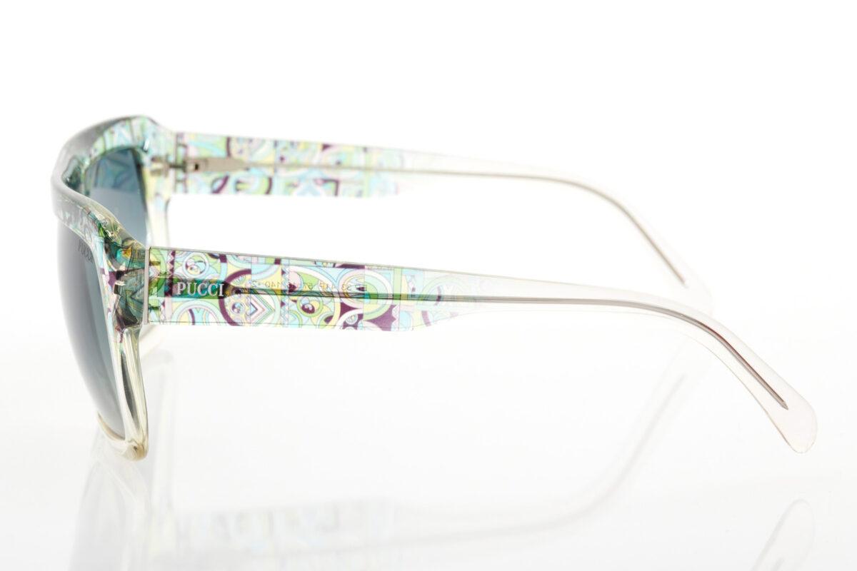 Transparent Female Sunglasses Emilio Pucci