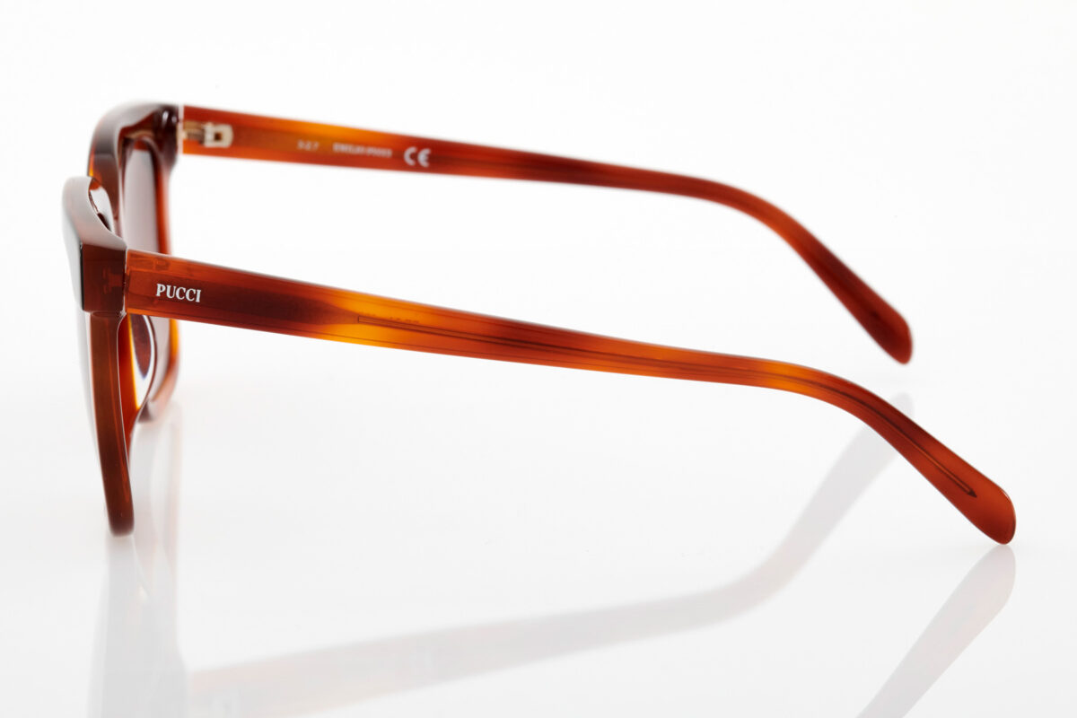 Brown Female Sunglasses Emilio Pucci