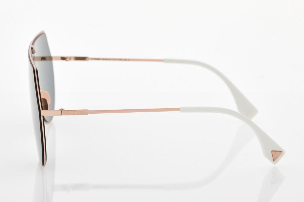 Χρυσά Unisex Γυαλιά Ηλίου Fendi
