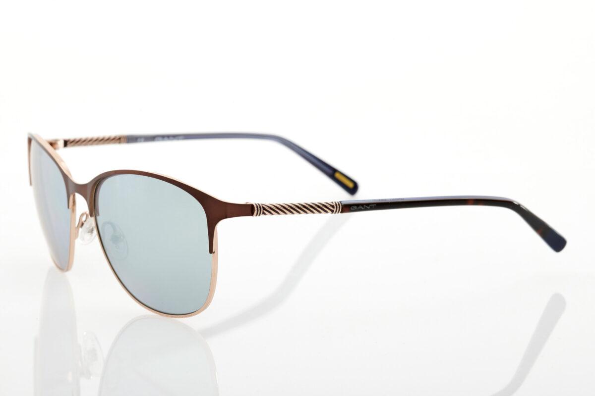 Καφέ Γυναικεία Γυαλιά Ηλίου Καθρέφτες Gant GA8051 49G