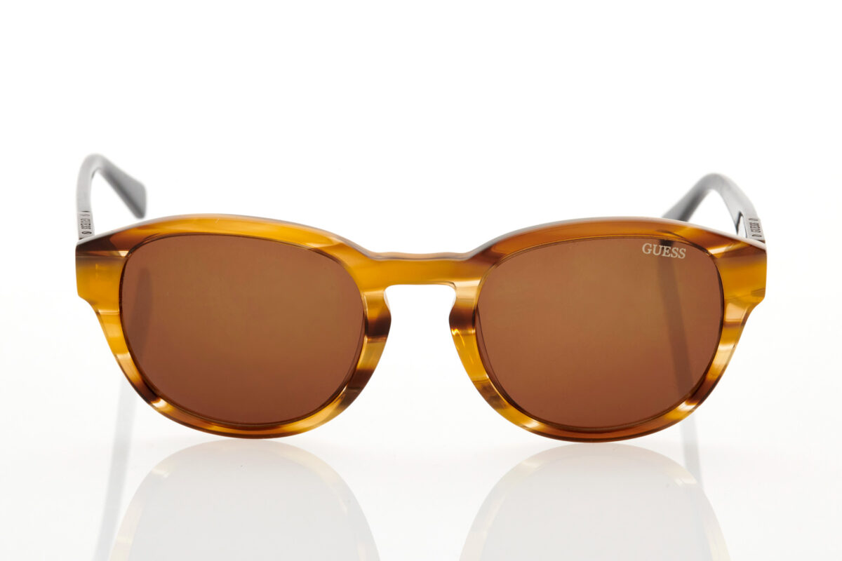 Male Tortoise Sunglasses GUESS 6856 45E 52