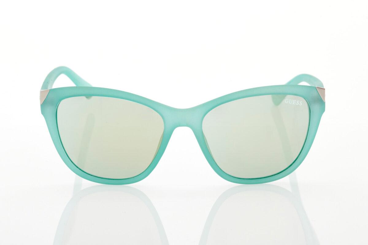 Τυρκουάζ Γυναικεία Γυαλιά Ηλίου Καθρέφτες GUESS 7398-85X-55