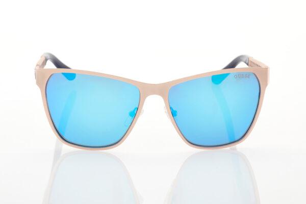 Ροζ-Χρυσά Γυναικεία Γυαλιά Ηλίου Καθρέφτες GUESS 7403-29X-52