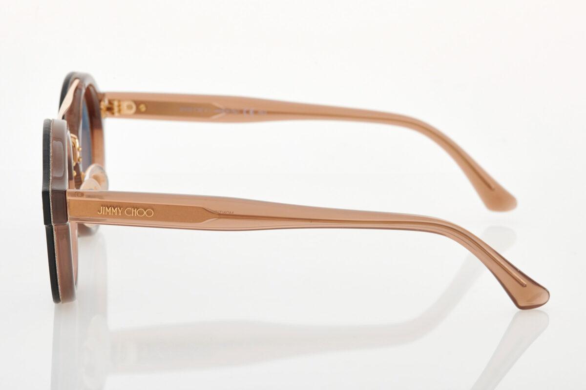 Μαύρα Χρυσά Γυναικεία Γυαλιά Ηλίου Jimmy Choo