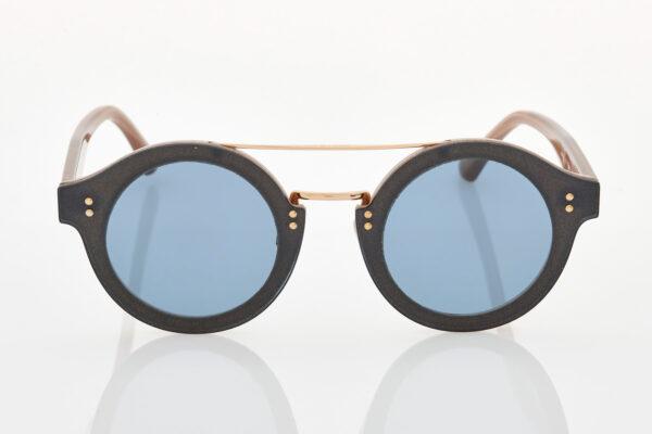 Female Black Gold Sunglasses Jimmy Choo