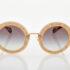 Χρυσά Γυναικεία Γυαλιά Ηλίου Miu Miu