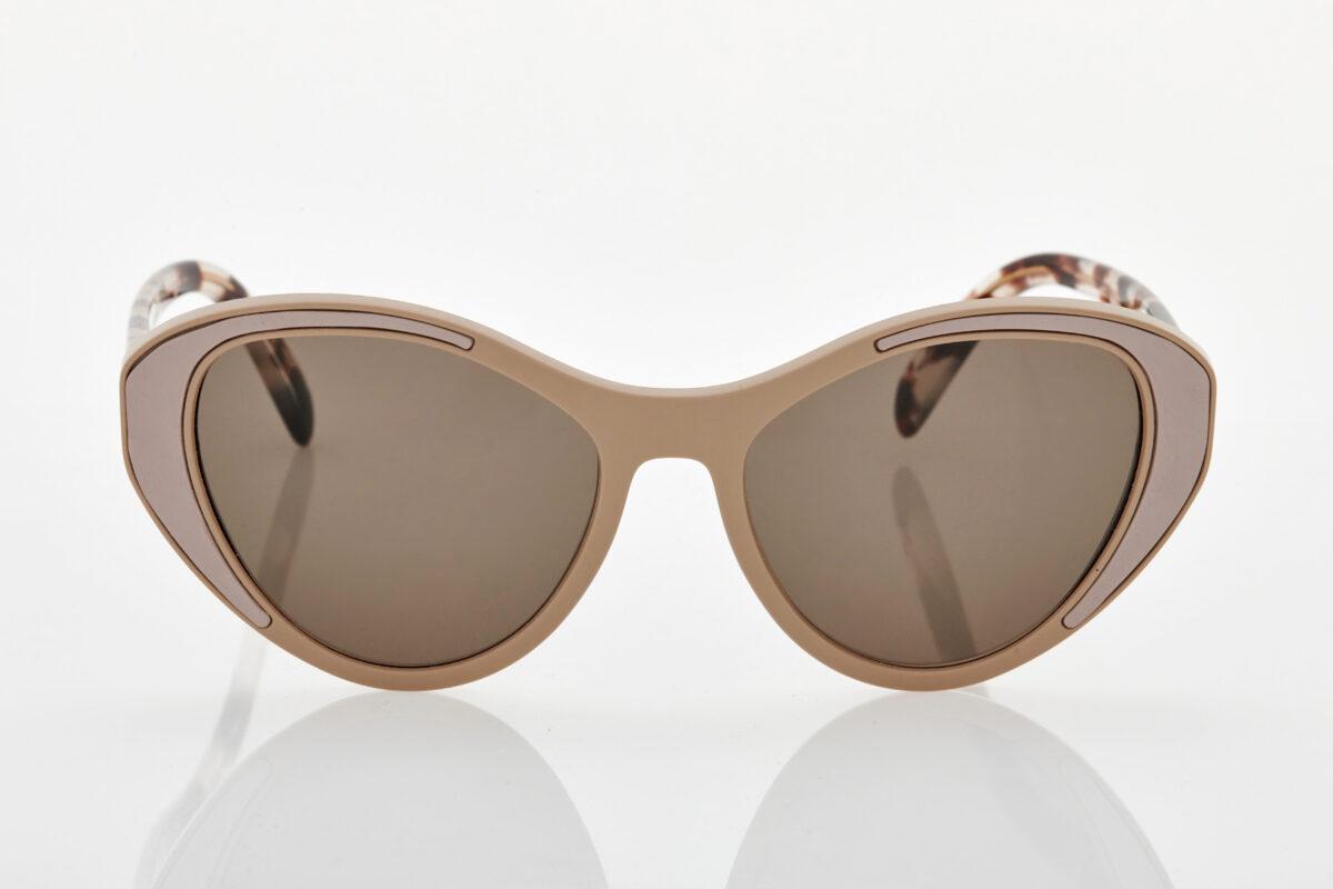 Μπεζ Γυναικεία Γυαλιά Ηλίου Prada