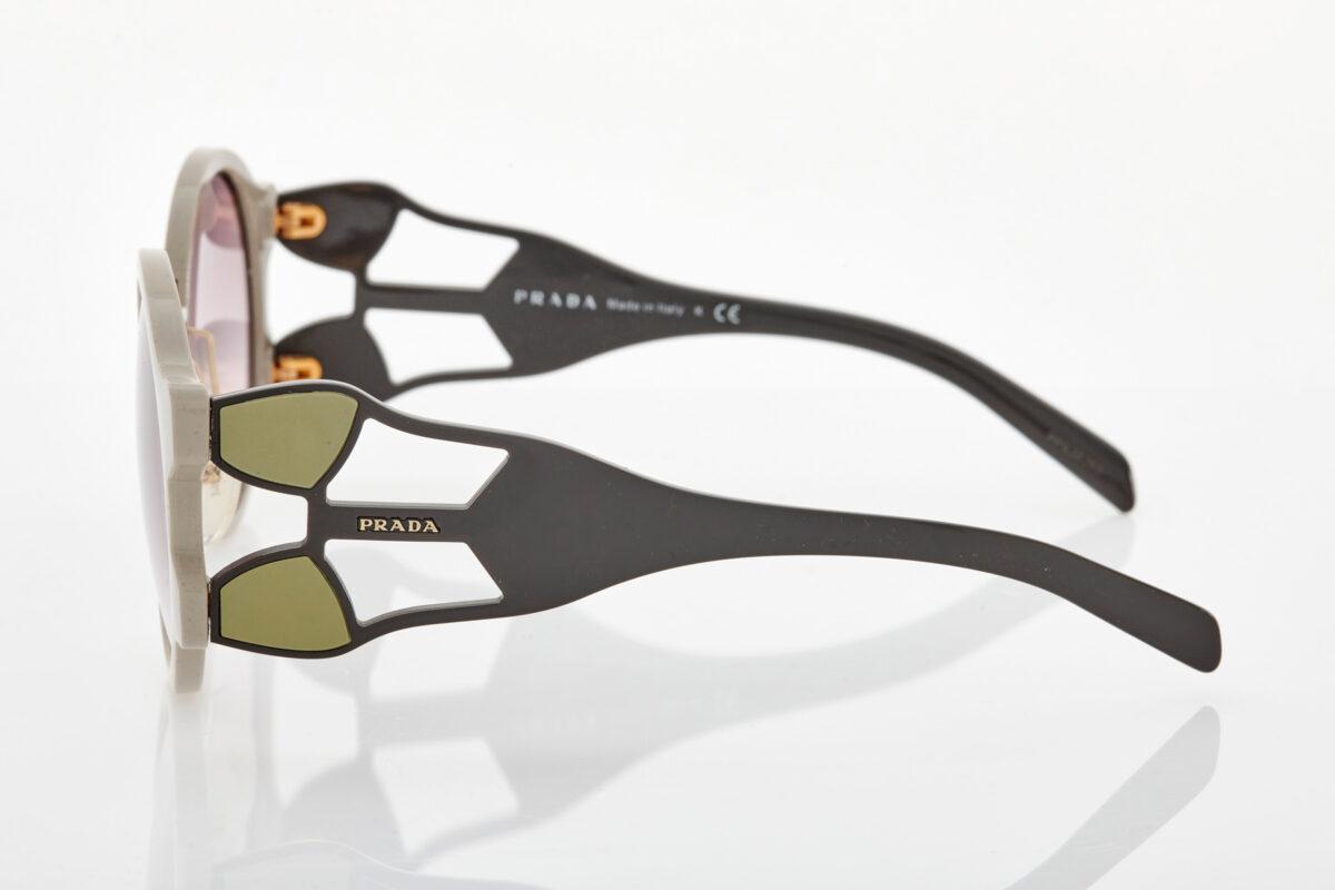 Μπεζ Καφέ Γυναικεία Γυαλιά Ηλίου Prada