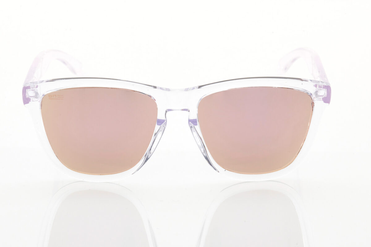 Unisex Διάφανα Γυαλιά Ηλίου Hawkers Air Rose Gold One