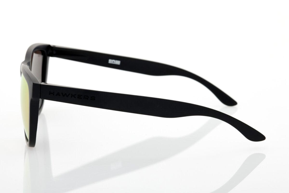 Unisex Μαύρα Γυαλιά Ηλίου Hawkers CARBON BLACK ROSE GOLD ONE