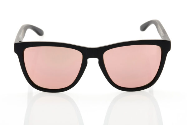 Unisex Black Sunglasses Hawkers CARBON BLACK ROSE GOLD ONE