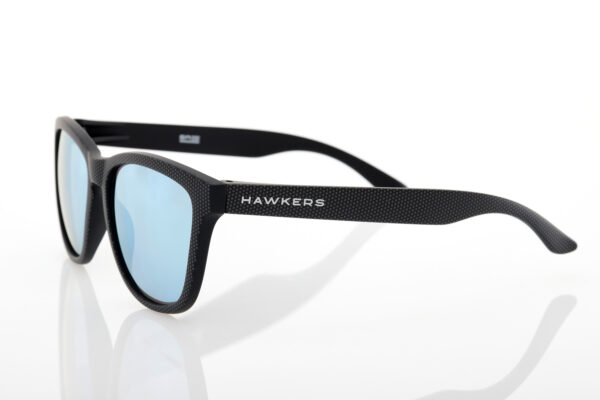 Hawkers Black Unisex Sunglasses CARBONO SPOTTED