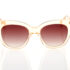 Nude Female Sunglasses Hawkers Audrey Champagne