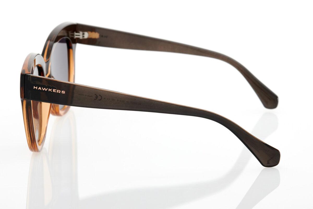 Καφέ Γυναικεία Γυαλιά Ηλίου Hawkers Audrey FUSION BROWN