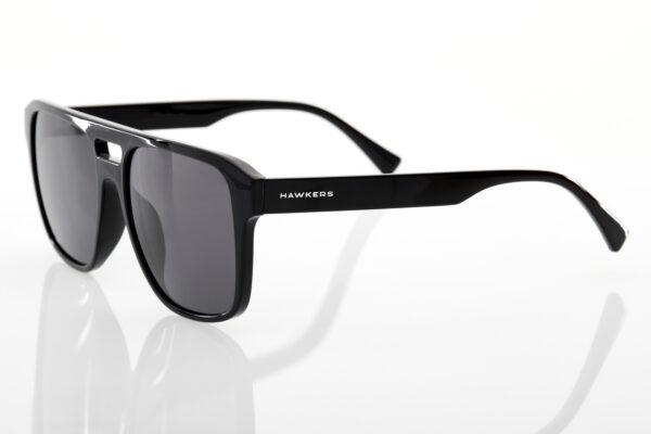 Unisex Black Sunglasses Hawkers Vigil Black