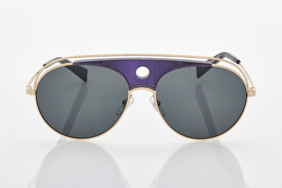 Unisex Μπλε Γυαλιά Ηλίου Alain Mikli