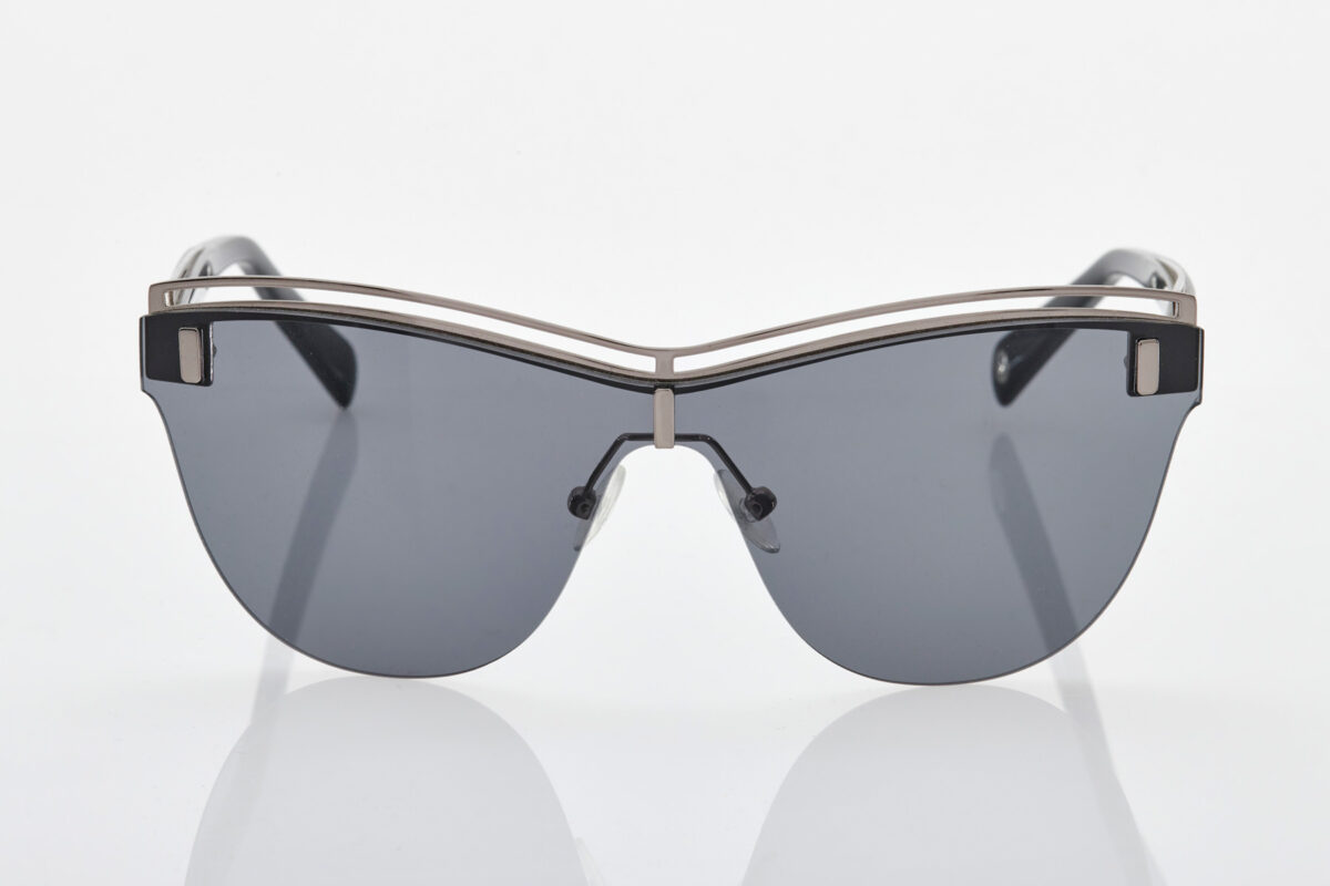 Female Black-Silver Sunglasses Balmain