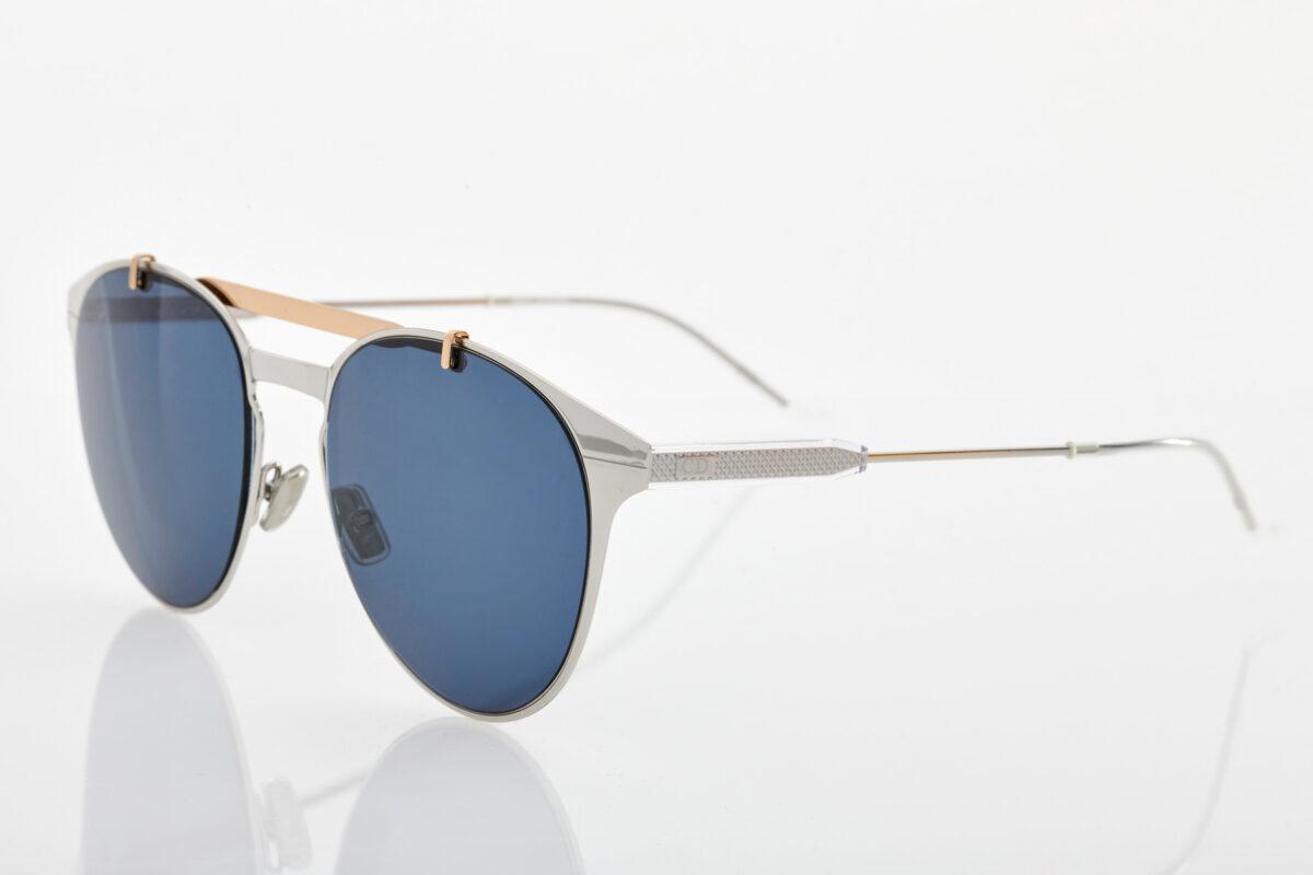 Male Silver Sunglasses Dior