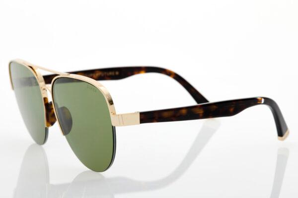 Unisex Χρυσά Γυαλιά Ηλίου Retrosuperfuture